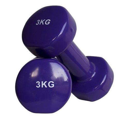 Fitribution Aerobic dumbbells 3kg (1pair)