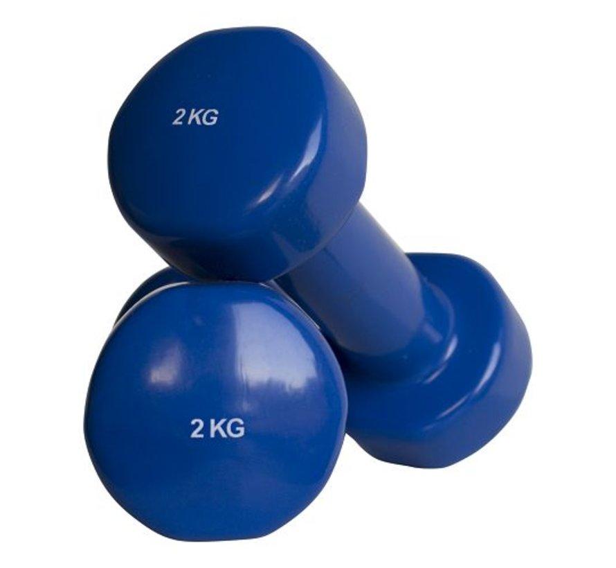 Haltères vinyle 2kg (1paire)