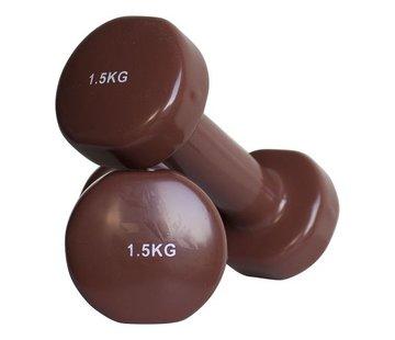 Fitribution Haltères vinyle 1.5kg (1paire)