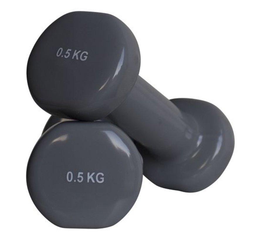 Mancuernas aeróbicas 0.5kg (1 par)