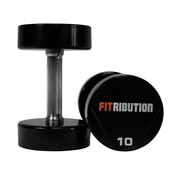 Fitribution Urethane dumbbells 22-50kg 15pairs