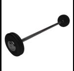 Iron fixed barbells