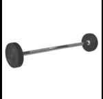 PU straight fixed barbells