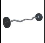 PU EZ fixed barbells