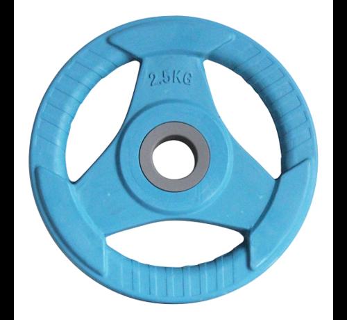 Fitribution Discos de peso Body Pump Caucho 2,5kg (1par) 30mm
