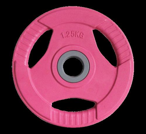 Fitribution  Disques Body Pump caoutchouc 1,25kg (1paire) 30mm
