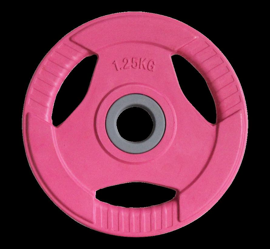 Body Pump disks rubber 1,25kg (1pair) 30mm