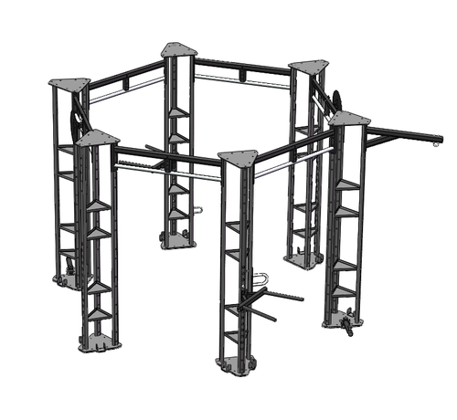 Fitribution Hex functional training  rig