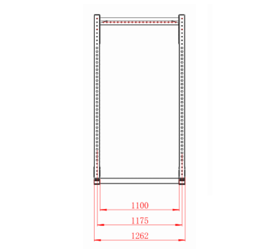 Power Rack XL met extensie