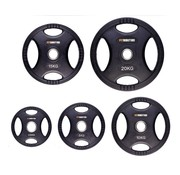 Fitribution Set 2,5/5/10/15/20kg weight plate HQ rubber with grips 50mm
