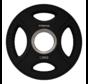 Série 10/15/20/25kg disque à poignées en uréthane 50mm