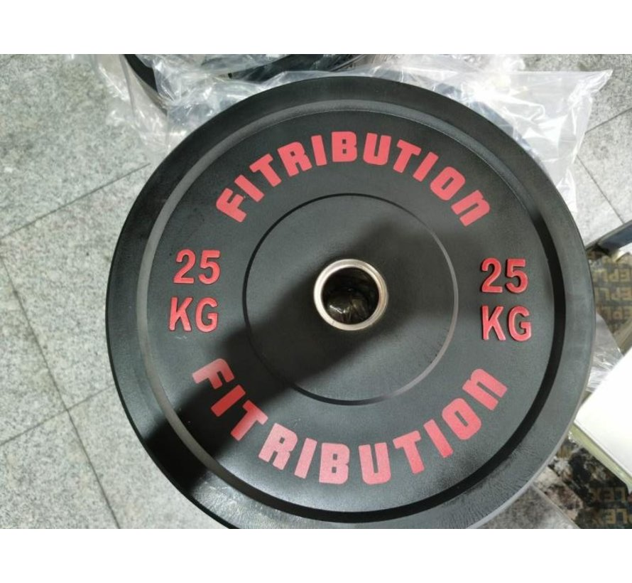 25kg schijf bumper plate rubber 50mm