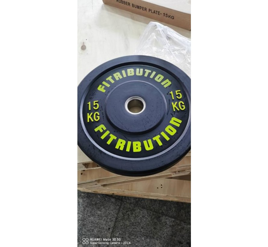15kg bumper plate rubber 50mm