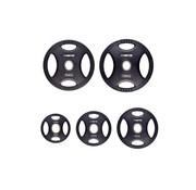 Fitribution Set 1,25/2,5/5/10/15kg schijf HQ rubber met handgrepen 50mm