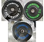 Set 5/10/20kg schijf bumper plate rubber 50mm