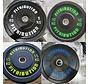 Set 5/10/15/20kg bumper plate rubber 50mm