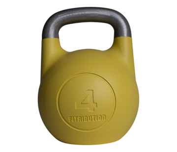 Fitribution 4kg holle competitie kettlebell