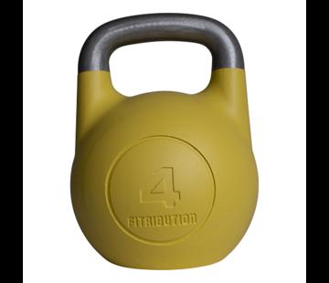 Fitribution 4kg kettlebell compétition creux