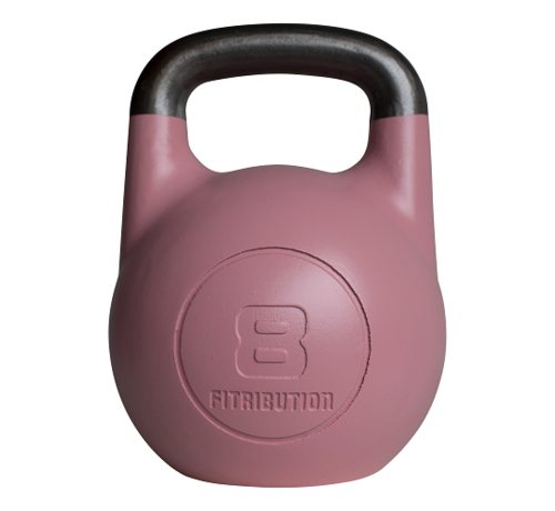 Fitribution 8kg hollow steel competition kettlebell