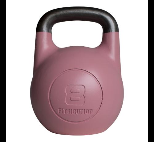Fitribution 8kg kettlebell compétition creux (acier)