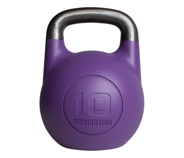 Fitribution 10kg holle competitie kettlebell