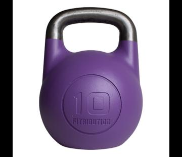 Fitribution 10kg kettlebell compétition creux