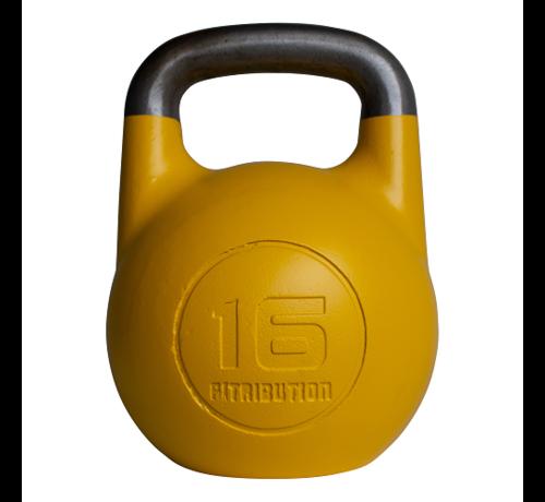 Fitribution 16kg kettlebell compétition creux (acier)