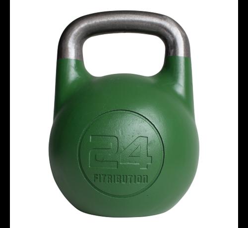 Fitribution 24kg kettlebell compétition creux (acier)