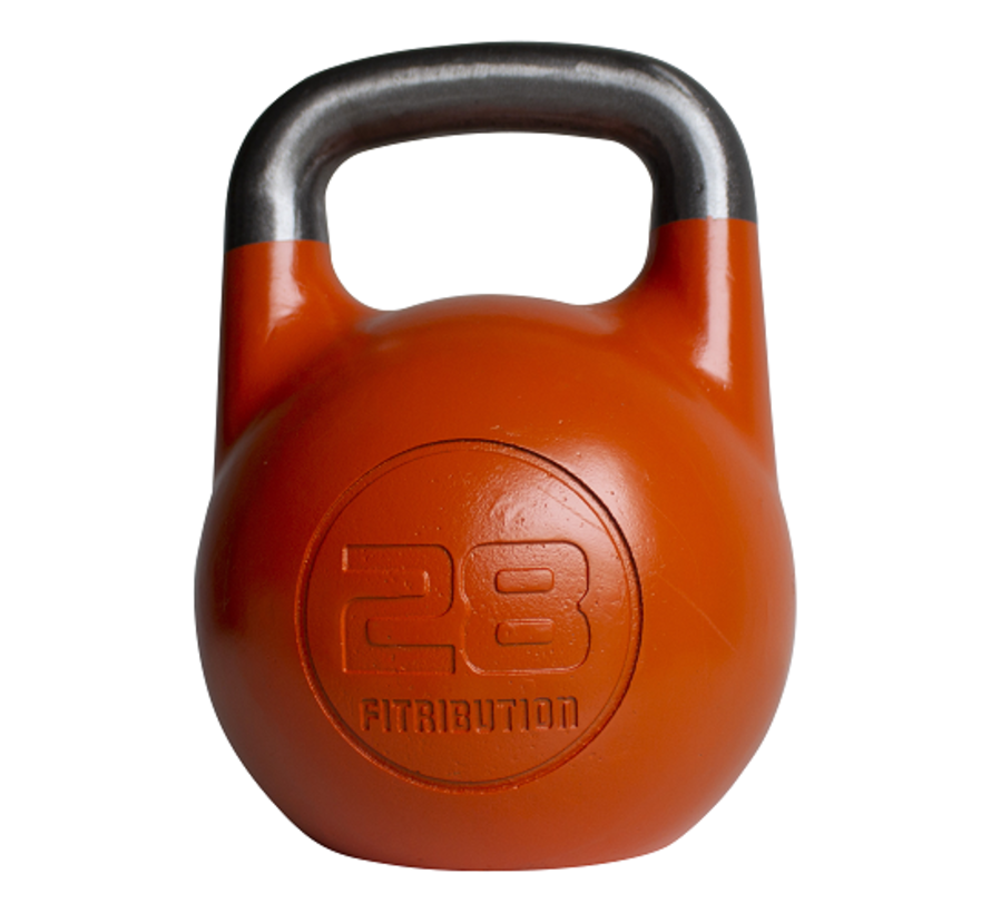 28kg holle stalen competitie kettlebell  (hollow competition kettlebell)