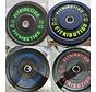 Série 10/15/20/25kg disque bumper plate caoutchouc 50mm
