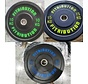Série 10/15/20kg disque bumper plate caoutchouc 50mm