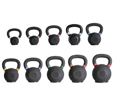 Fitribution Kettlebells set 4-32kg 10 pieces