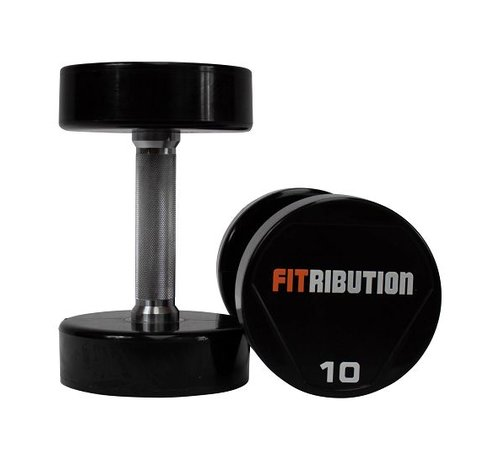 Fitribution Urethane dumbbells 9kg 1pair