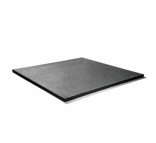 Fitribution Rubber fitnesstegel PRO 100x100x2cm zwart