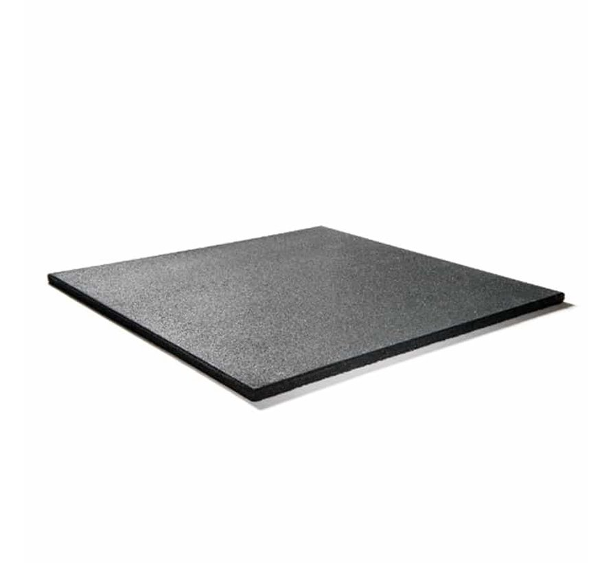 Dalle de caoutchouc PRO 100x100x2cm noir