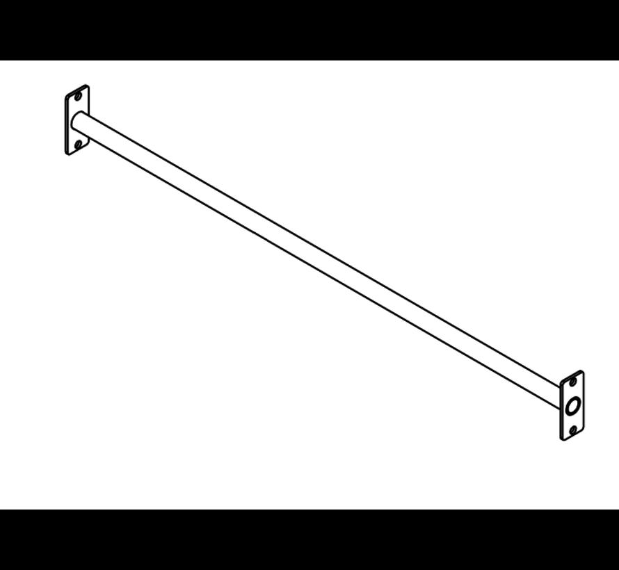 Barre de traction acier inoxydable (poteaux en bois non inclus)