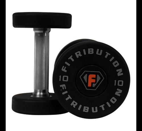 Fitribution Urethaan dumbbells luxe 2-30kg 15paar