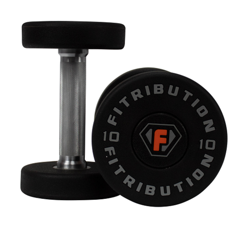 Fitribution Urethane dumbbells luxe 2-40kg 20pairs