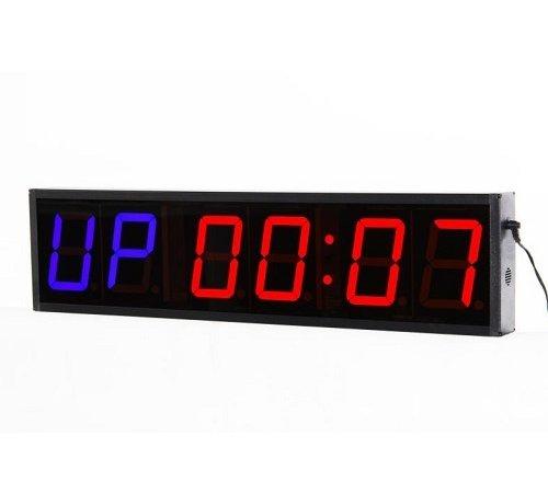 Fitribution Temporizador de entrenamiento de 6 dígitos / Reloj crossfit