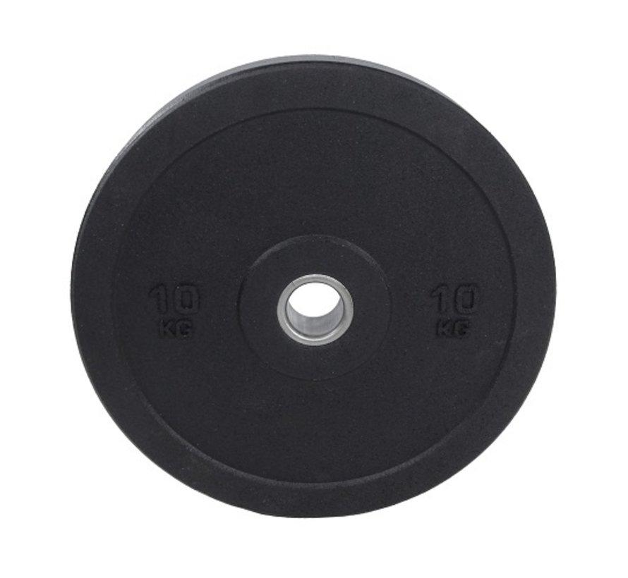 Set 5/10/15/20kg bumper plate crumb rubber 50mm / Hi-Temp Bumper Plates