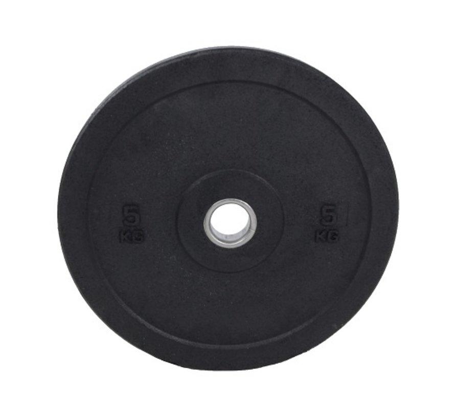 Set 5/10/15kg schijf bumper plate crumb rubber 50mm / Hi-Temp Bumper Plates