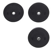 Fitribution Serie 5/10/20kg Disco De Parachoques De Caucho crumb 50mm