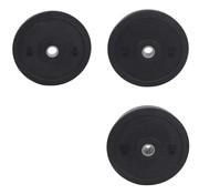 Fitribution Série 5/10/20kg disque bumper plate caoutchouc crumb 50mm