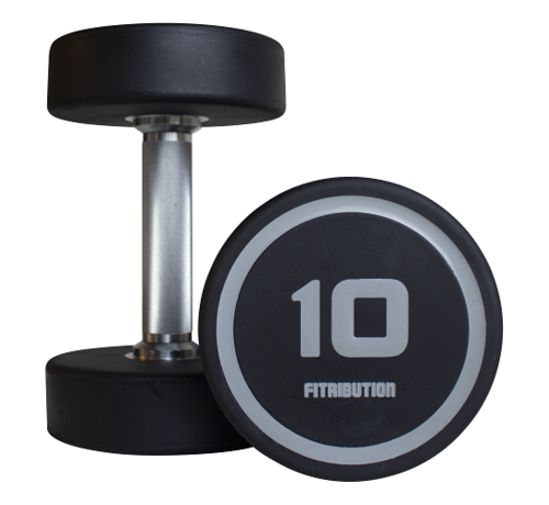Fitribution Urethaan dumbbells dynamic 2-20kg 10paar