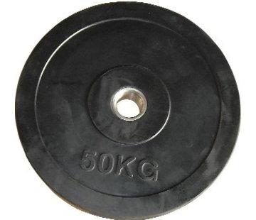 Fitribution 50kg Disco De Peso HQ Caucho 50mm