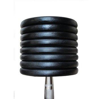Fitribution Classic ijzeren dumbbells 12-30kg 10paar