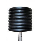 Fitribution Mancuernas Clásicas De Hierro 5-50kg 19 Pares