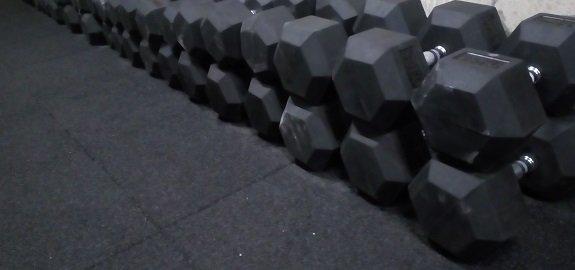 Hex dumbbells