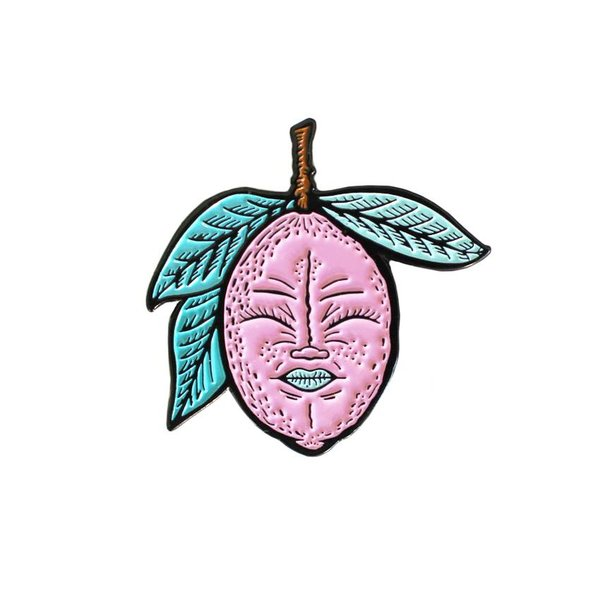 Lemony pin (Pink) by Creamlab