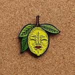 Lemony pin (Yellow) by Creamlab